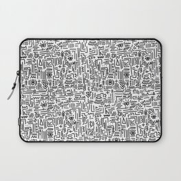 Tipsy pattern Laptop Sleeve