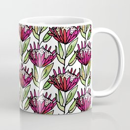 Modern Floral Protea Pink #homedecor Coffee Mug