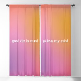 Good Days, SZA Inspired Gradient Blackout Curtain