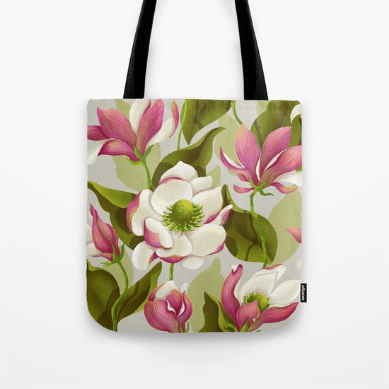 magnolia bloom - daytime version Tote Bag