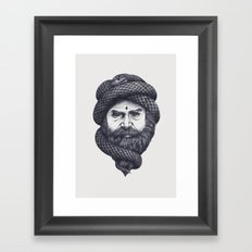 Mind Control Framed Art Print