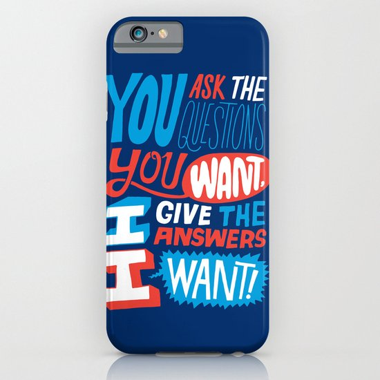 The Answers I Want. iPhone & iPod Case