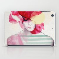 rug iPad Cases featuring Bright Pink - Part 2  by Jenny Liz Rome