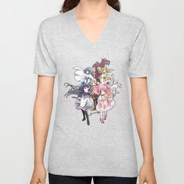 Puella Magi Madoka Magica - Only You Unisex V-Neck