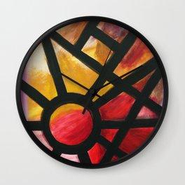 Washington DC's Dupont Circle Wall Clock