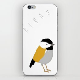 Birds chirping when I wake up | By Melissa Medwyk iPhone Skin