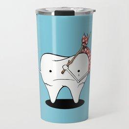 Its Tooth Soon To Say Goodbye Travel Mug