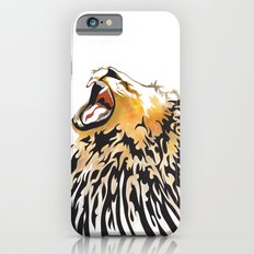 lion barcode iPhone 6s Slim Case