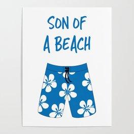 Son Of A Beach Poster