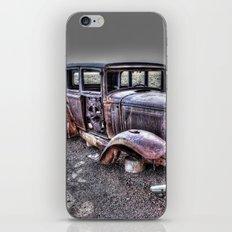 Rusting in the desert iPhone & iPod Skin