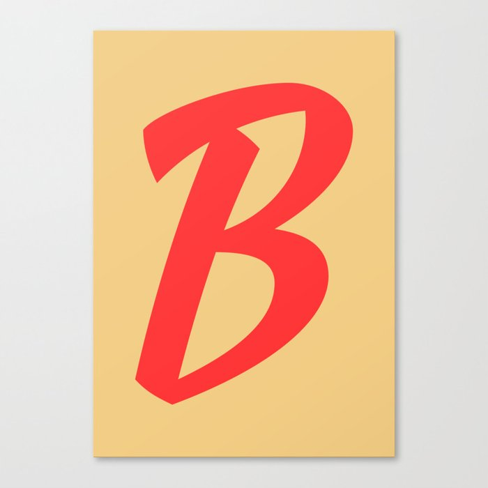 ABC FY - B Canvas Print