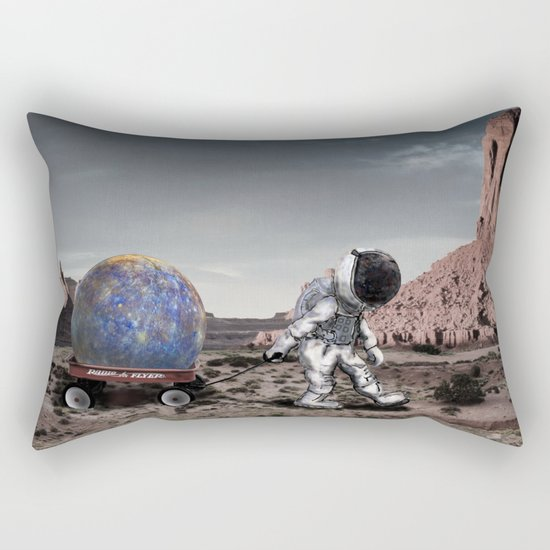 Found It Over There Rectangular Pillow