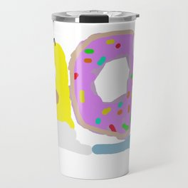 Homer Simpsnail Travel Mug