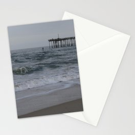 Overcast Day at Nag's Head Stationery Cards