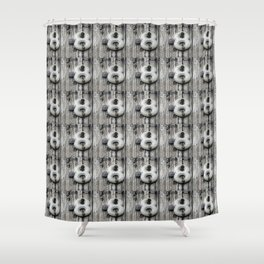 Crazy 8 Shower Curtain