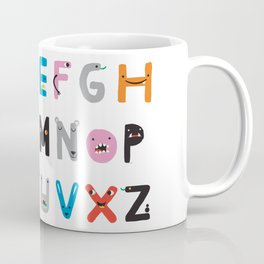 ABC The Monster Alphabet Coffee Mug
