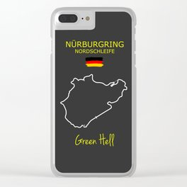 The Nurburgring Nordschleife Clear iPhone Case