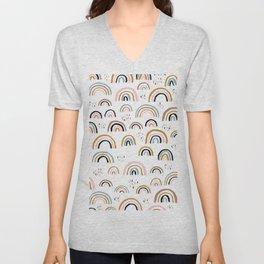 Love is love rainbow dreams Unisex V-Neck