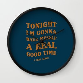 A Queen's song! | Good Music, Good Times. Wall Clock