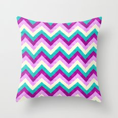 Chevron Jewel Throw Pillow