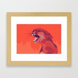 Puma Concolor Framed Art Print