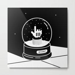 Internet Souvenir Metal Print