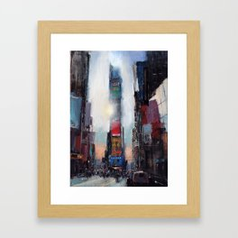 The Times They Are A Changing Framed Art Print