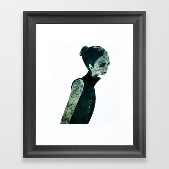 pin-turns Framed Art Print