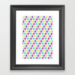 Ice-cream Cones Framed Art Print
