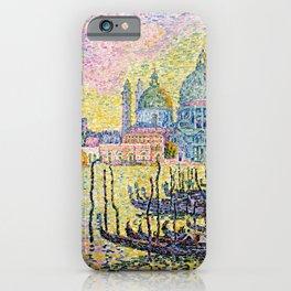Paul Signac, Grand Canal (Venise) iPhone Case