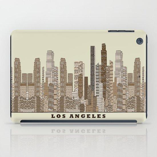 los angeles city iPad Case