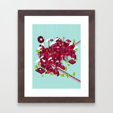 Sound City Framed Art Print