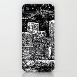 Starry Night of Hong Kong iPhone Case