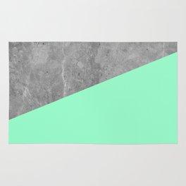 Geometry 101 Mint Meringue Rug