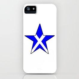 flag of scotland 8– scotland,scot,scottish,Glasgow,Edinburgh,Aberdeen,dundee,uk,cletic,celts,Gaelic iPhone Case