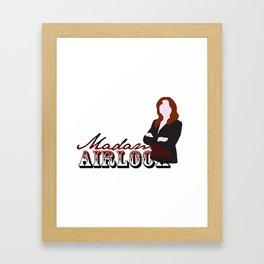 Madame Airlock Framed Art Print