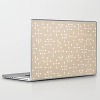 eames Laptop & iPad Skins featuring Eames Era Dots 25 by Makanahele