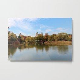 Central Park - Fall Metal Print