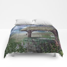 Wishing Well Waterfall Comforters