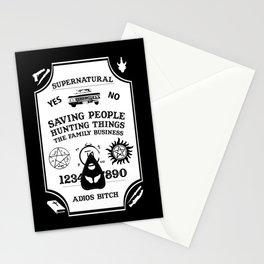 Supernatural Ouija Design Stationery Cards