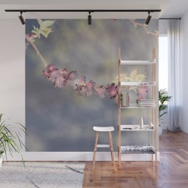 Cherry Blossom Inversion Wall Mural