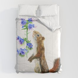 Take Time To Smell The Flowers by Teresa Thompson Comforters