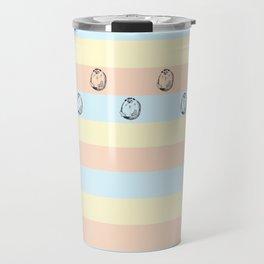 Grumpy Hedgehog Travel Mug