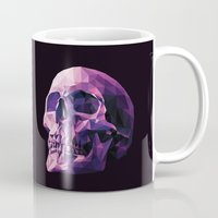 skull Mugs featuring Skull by Roland Banrevi