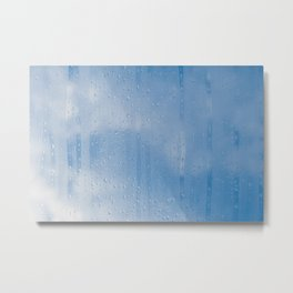 Abstract of condensation and vapor Metal Print