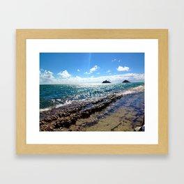 Kailua Framed Art Print