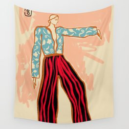 NEW YEAR DANCE Wall Tapestry