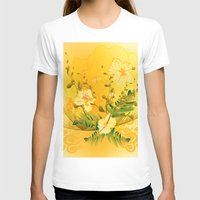 matty healy T-shirts featuring Wonderful soft yellow flowers by nicky2342
