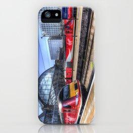 Kings Cross London Trains iPhone Case