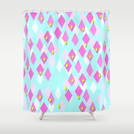 Dialectical Diamond Shower Curtain